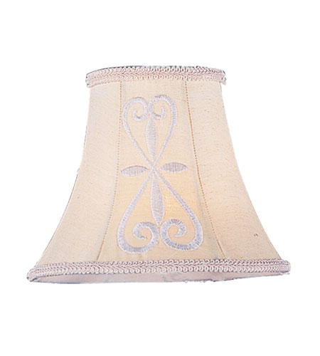 Livex S318 Chandelier Shade Hand Embroidered Shade photo