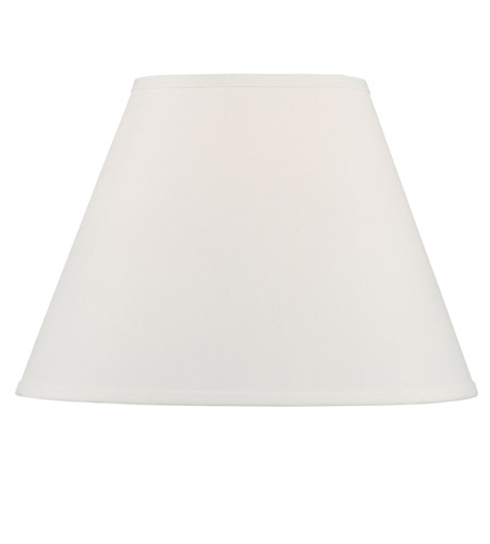 Livex S606 Hardback Lamp Shade Off White Hardback Empire Shade Shade photo