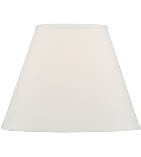 Livex S604 Hardback Lamp Shade Off White Hardback Empire Shade Shade photo