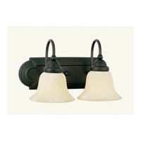 Livex Lighting Belmont 2 Light Bath Light in Bronze 1007-07