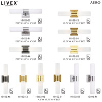 Livex 10102-46 Aero 2 Light 18 inch Black Chrome Vanity Light Wall Light alternative photo thumbnail