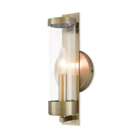 Livex 10141-01 Castleton 1 Light 5 inch Antique Brass ADA Wall Sconce Wall Light