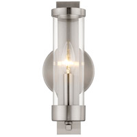 Livex 10141-91 Castleton 1 Light 5 inch Brushed Nickel ADA Wall Sconce Wall Light