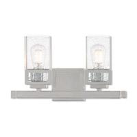 Livex 10152-05 Harding 2 Light 16 inch Polished Chrome Vanity Light Wall Light