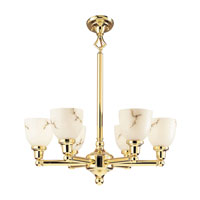 Livex Lighting Classic 6 Light Chandelier in Polished Brass 1026-02 photo thumbnail