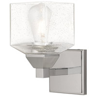Livex 10381-05 Aragon 1 Light 5 inch Polished Chrome Wall Sconce Wall Light