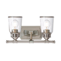 Lawrenceville 2 Light 16 inch Brushed Nickel Vanity Light Wall Light