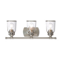 Lawrenceville 3 Light 24 inch Brushed Nickel Vanity Light Wall Light