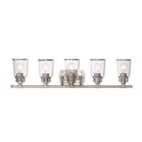 Lawrenceville 5 Light 36 inch Brushed Nickel Vanity Light Wall Light