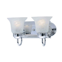 Livex Lighting Home Basics 2 Light Bath Light in Chrome 1072-05