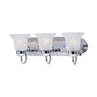 Livex Lighting Home Basics 3 Light Bath Light in Polished Chrome 1073-05