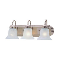 Livex Lighting Home Basics 3 Light Bath Light in Brushed Nickel 1073-91