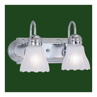 Livex Lighting Belmont 2 Light Bath Light in Chrome 1102-05