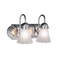Livex Lighting Belmont 2 Light Bath Light in Brushed Nickel 1102-91