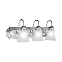 Livex Lighting Belmont 3 Light Bath Light in Brushed Nickel 1103-91