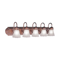 Livex Lighting Belmont 5 Light Bath Light 1105A-18 photo thumbnail