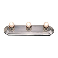 Bath Basics 3 Light 18 inch Brushed Nickel Bath Light Wall Light