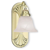 Signature 1 Light Polished Brass Vanity Light Wall Light