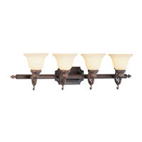 Livex Lighting French Regency 4 Light Bath Light in Imperial Bronze 1194-58