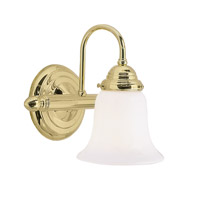 Livex Limited 1 Light Bath Light in Polished Brass 1291D-02