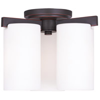 Livex 1324-67 Astoria 3 Light 11 inch Olde Bronze Ceiling Mount Ceiling Light