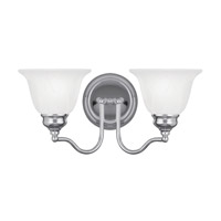 Essex 2 Light 15 inch Polished Chrome Bath Light Wall Light
