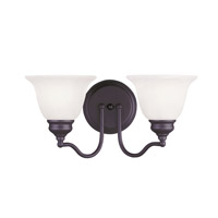 Essex 2 Light 15 inch Bronze Bath Light Wall Light