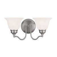 Essex 2 Light 15 inch Brushed Nickel Bath Light Wall Light