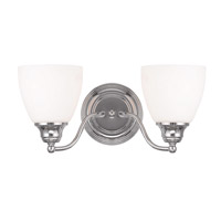 Somerville 2 Light 15 inch Polished Chrome Vanity Light Wall Light