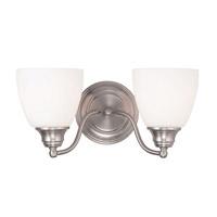 Livex Somerville 2 Light Vanity Light in Brushed Nickel 13672-91