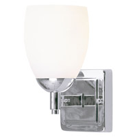 Livex Lighting Bloomfield 1 Light Bath Light in Chrome 1401-05