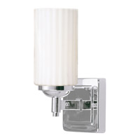 Livex Lighting Madison 1 Light Bath Light in Polished Chrome 1421-05 photo thumbnail