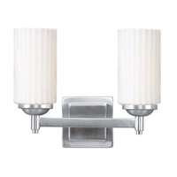 Livex Lighting Madison 2 Light Bath Light in Brushed Nickel 1422-91