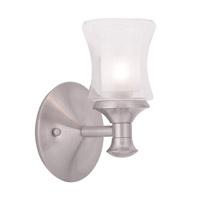 Livex Lighting Randolph 1 Light Bath Light in Brushed Nickel 1461-91