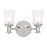 Livex Lighting Randolph 2 Light Bath Light in Chrome 1462-05