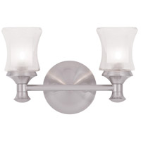 Livex Lighting Randolph 2 Light Bath Light in Brushed Nickel 1462-91