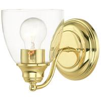 Livex 15131-02 Montgomery 1 Light 5 inch Polished Brass Vanity Sconce Wall Light