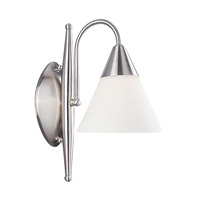 Livex Lighting Sterling 1 Light Bath Light in Brushed Nickel 1521-91 photo thumbnail