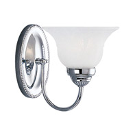 Livex Lighting Edgemont 1 Light Bath Light in Chrome 1531-05