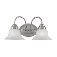 Livex Lighting Edgemont 2 Light Bath Light in Brushed Nickel 1532-91 photo thumbnail