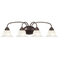 Livex Lighting Edgemont 4 Light Bath Light in Bronze 1534-07
