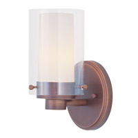 Livex Lighting Manhattan 1 Light Bath Light in Vintage Bronze 1541-70
