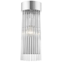 Livex 15711-05 Norwich 1 Light 6 inch Polished Chrome Sconce Wall Light