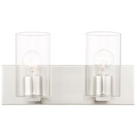 Livex Steel Zurich Bathroom Vanity Lights