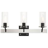 Livex 17823-91 Beckett 3 Light 24 inch Brushed Nickel Vanity Sconce Wall Light