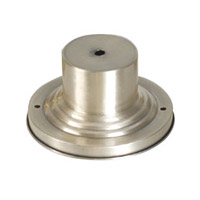 Outdoor Accessory 3 inch Brushed Nickel Outdoor Pier Mount Adaptor
