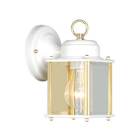 Livex Limited 1 Light Outdoor Wall Lantern in White 2005-03