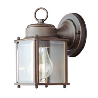 Livex Lighting Outdoor Basics 1 Light Outdoor Wall Lantern in Imperial Bronze 2005-58
