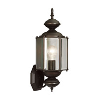 Livex Lighting Outdoor Basics 1 Light Outdoor Wall Lantern in Bronze 2006-07