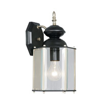 Livex Limited 1 Light Outdoor Wall Lantern in Black 2007-04